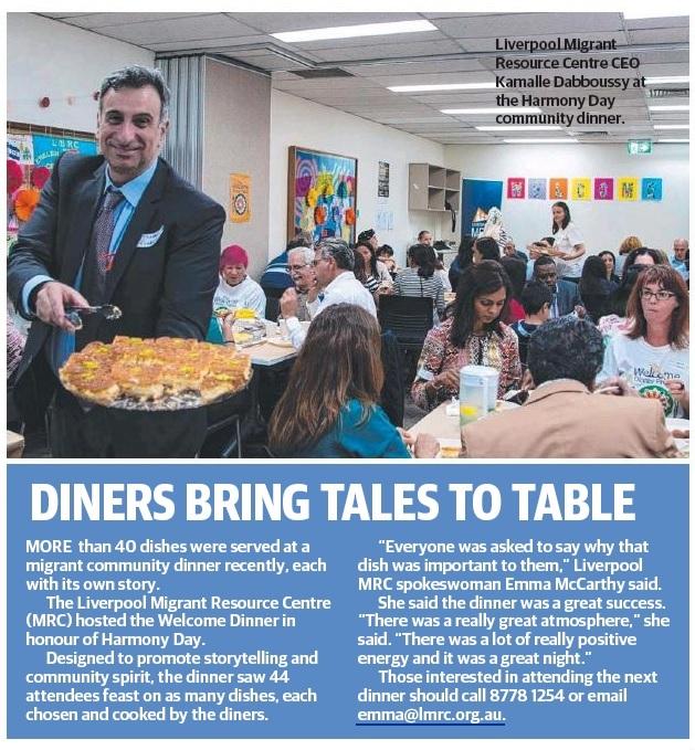 Liverpool Leader Community Dinner Pic